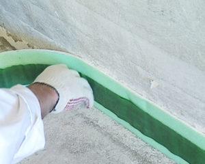 Демпферная лента для наливного пола