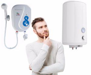 Проточный или накопительный водонагреватель – выбираем оптимальный тип