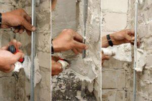 Как правильно сделать крепление маяков под штукатурку – советуют профессионалы