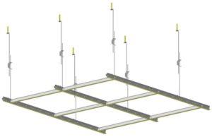 Комплектующие и фурнитура для подвесного потолка