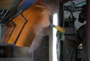 Порошковая окраска металлических изделий – технология покраски своими руками