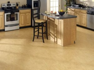 Напольные покрытия для кухни