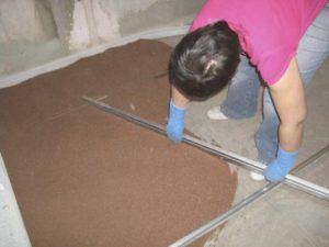 Сухая стяжка пола – получаем ровное основание без воды и грязи