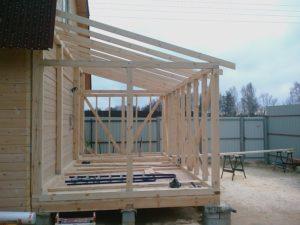 Как пристроить веранду к дому – варианты и технология строительства