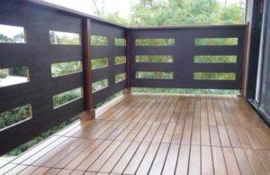 Обустройство пола на открытом балконе дачи или дома