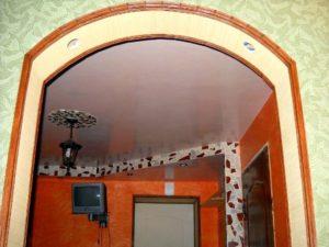 Декоративные пластиковые уголки для отделки арок