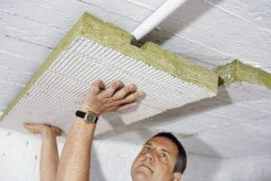 Правильное утепление бетонного потолка в квартире