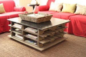 Журнальный столик своими руками – креативная конструкция для украшения домашнего интерьера