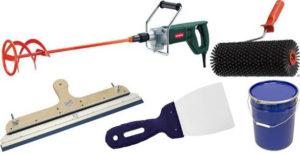 Инструменты и материалы для наливного пола