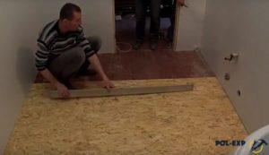 Укладка линолеума на деревянный пол – все секреты операции