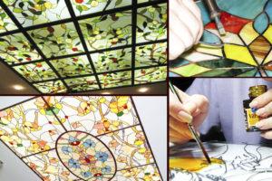 Витражи на стекле своими руками – как изготовить?
