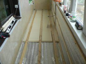Как сделать черновой пол для лоджии или балкона своими руками?