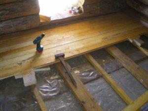Как своими руками сделать пол на даче?