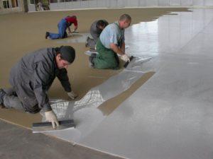 Полимерные полы – создаем красивое и долговечное покрытие