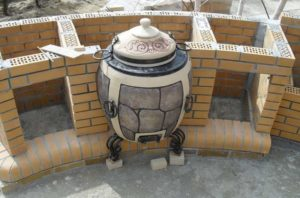 Кирпичный тандыр своими руками – необычная восточная печка у вас на даче