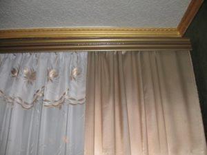 Виды, стоимость и установка потолочных гардин