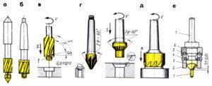 Зенкер конический: виды и назначение инструмента