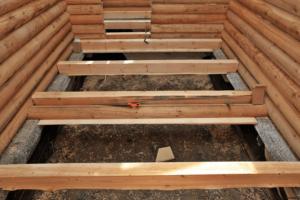 Виды полов в деревянном доме
