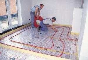 Технология монтажа теплого пола и этапы работ