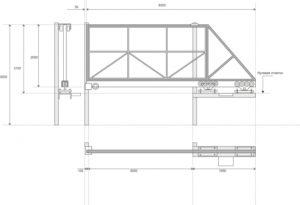Как сделать ворота своими руками – чертежи, эскизы, конструкция и другие важные нюансы изготовления
