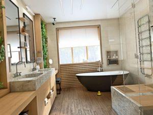 Ванная комната в частном доме – как обустроить с нуля, проекты на выбор