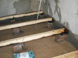 Как сделать пол на лагах в деревянном доме?