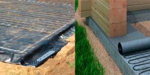 Рубероид для гидроизоляции фундаментов