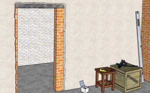 Как уменьшить дверной проем по высоте и ширине – способы и материалы
