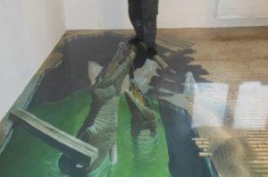 Наливной пол с 3D эффектом: технология создания и полезные советы