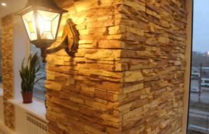 Как использовать декоративный камень для внутренней отделки – способы оформления