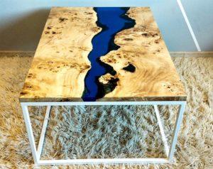 Мебель из эпоксидной смолы – проектируем и изготавливаем самостоятельно