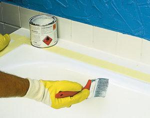 Как покрасить ванну эмалью – от подготовки до конечного результата