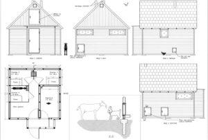 Зимний курятник – проект постройки на даче, размеры и пошаговое руководство