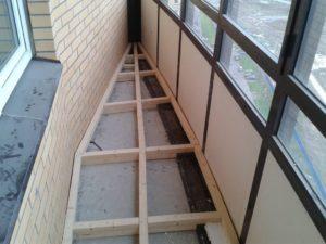 Способы поднятия пола на балконе или лоджии
