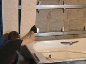 Панели ПВХ в ванной – как провести монтаж самостоятельно?