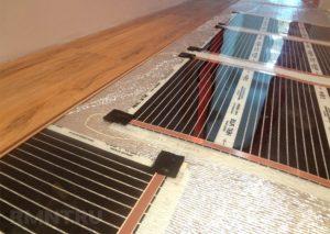 Как правильно сделать пленочный теплый пол под ламинат?