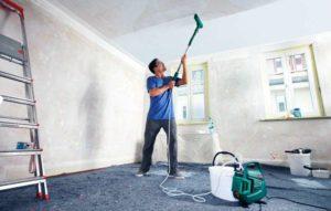 Краскопульт для водоэмульсионной краски – упрощаем себе жизнь при покраске стен и потолков