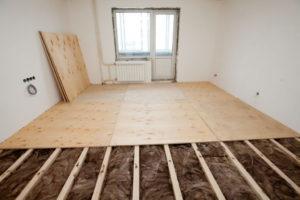 Как самостоятельно сделать пол в квартире?