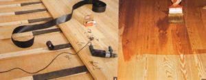 Шпунтованная доска – особенности монтажа на лаги и фанеру