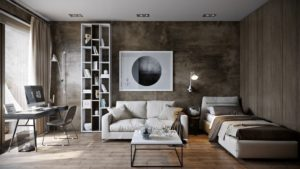 Стиль лофт в интерьере маленькой квартиры – правила оформления комнат