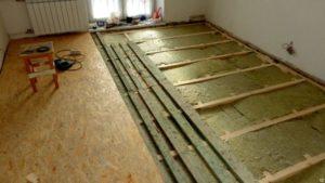 Цена работ по настилу деревянного пола