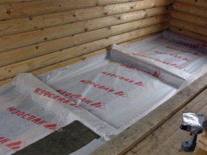 Изоспан для пола в деревянном доме