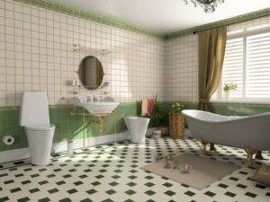 Подбор плитки для пола в ванной комнате