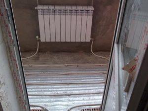 Теплый пол от центрального отопления