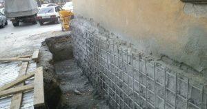 Варианты укрепления фундамента частного дома своими руками