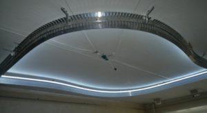 Монтаж и стоимость многоуровневых натяжных потолков