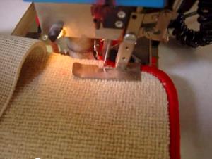 Как сделать оверлок ковролина своими руками?