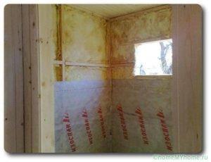 Пароизоляция стен – надежная защита дома от сырости