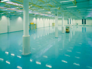 Полимерные полы для промышленных помещений