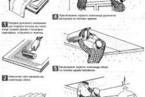 Как правильно клеить обои на потолок – инструкции, советы по выбору материалов и работе